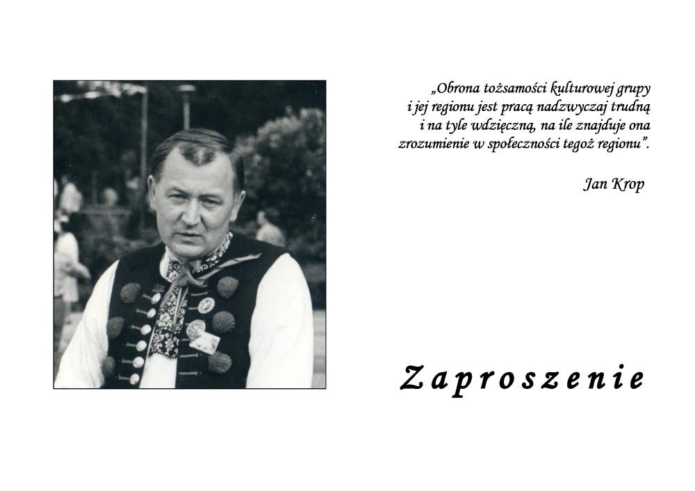 W Wiśle uczczą pamięć Jana Kroppa