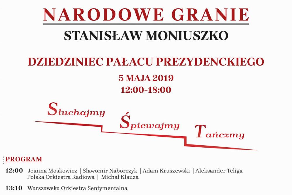 Dziś wypada 200. rocznica urodzin Stanisława Moniuszki. Z tej okazji w Polsce jest Narodowe Granie
