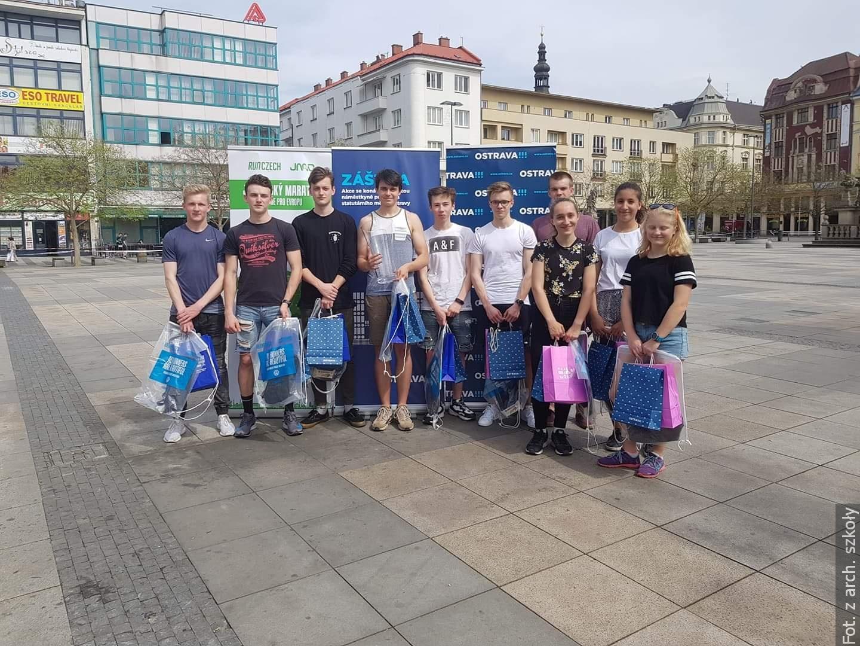 Nasi sportowcy na podium w Pradze