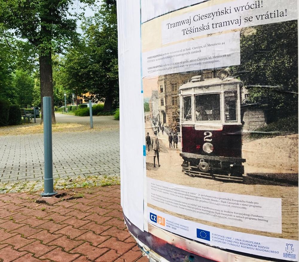 Tramwaj Cieszyński wrócił! Těšínská tramvaj se vrátila!