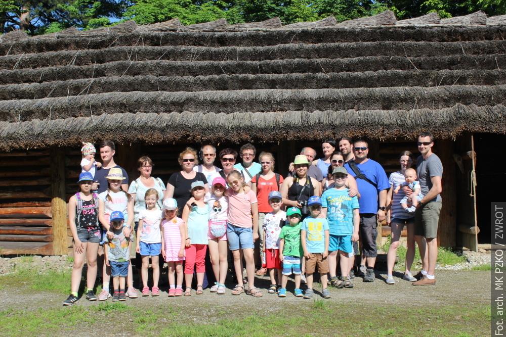 Z POCZTY REDAKCYJNEJ: Wycieczka do Archeoparku w Kocobędzu