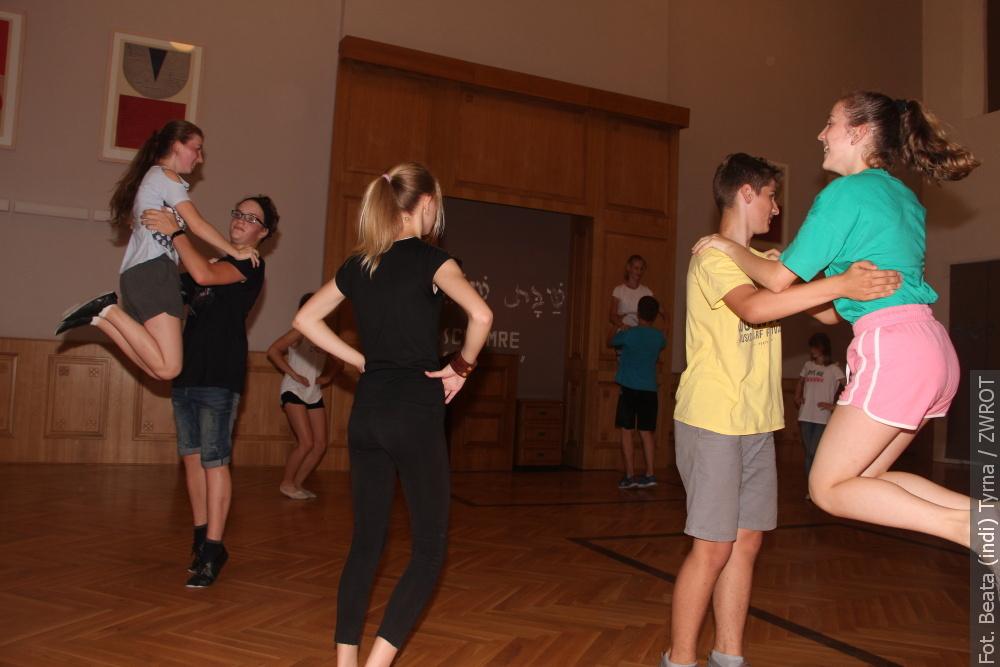 Rytmika. Rok obfitował w występy, a młodych tancerzy taniec po prostu cieszył