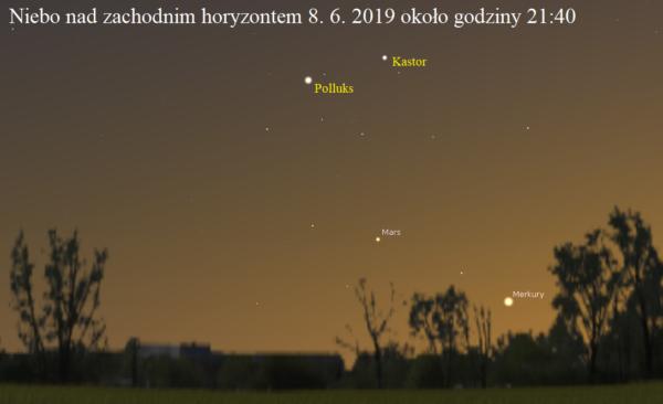 Można wypatrzeć Merkurego