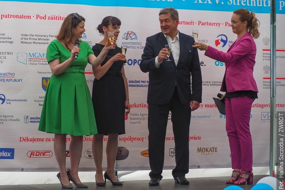 Świat biznesu świętował w Ostrawie dwa jubileusze