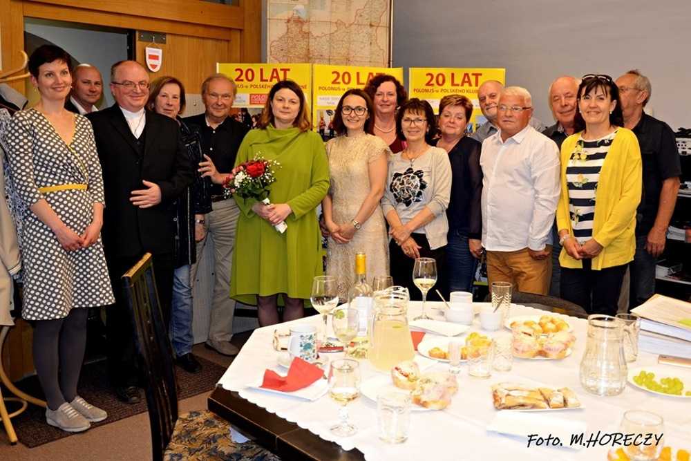 Z REDAKCYJNEJ POCZTY: Wizyta konsul generalnej RP w Klubie Polonus w Brnie