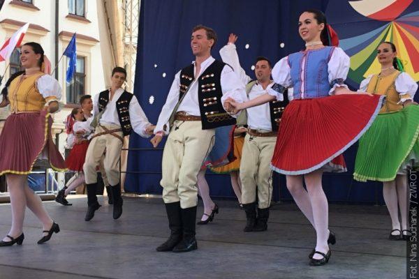 Olza tańczyła na rzeszowskim rynku