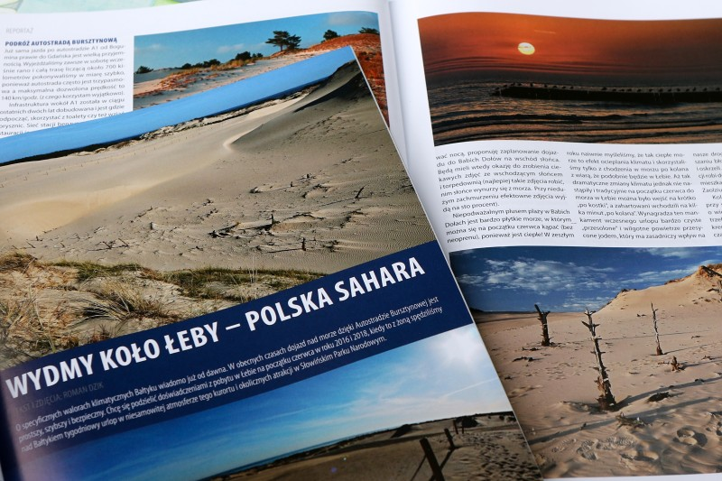 Propozycja na wakacje: Polska Sahara