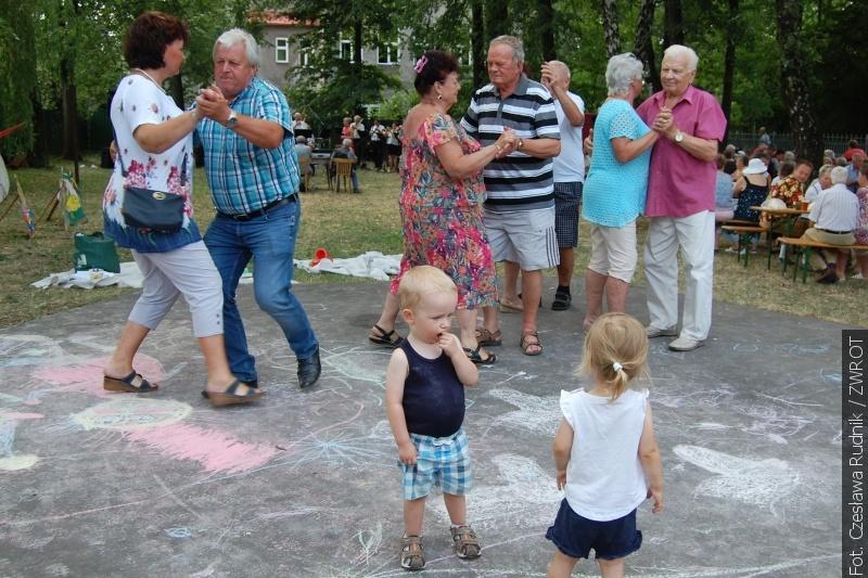 Na rajskiej imprezie bawiły się całe rodziny