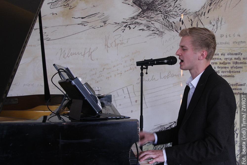 Przemek Orszulik zagrał pierwszy po przerwie koncert