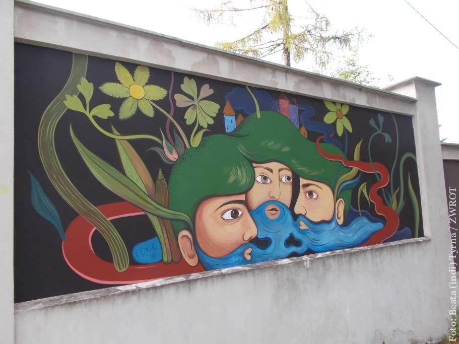 W Cieszynie można podziwiać nowe murale