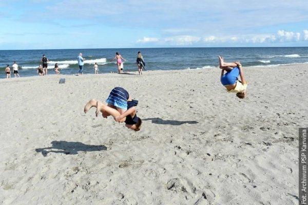 Zaolziańscy siódmoklasiści wyjechali nad polski Bałtyk