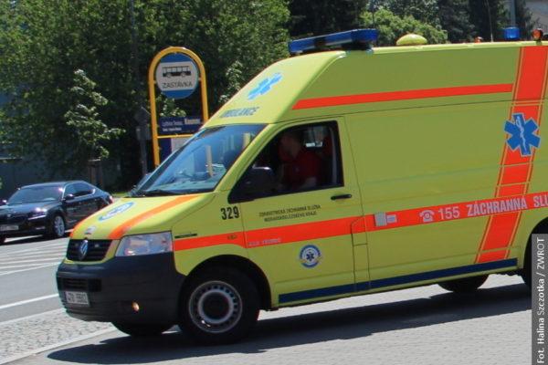 Śmiertelny wypadek w Mostach koło Jabłonkowa