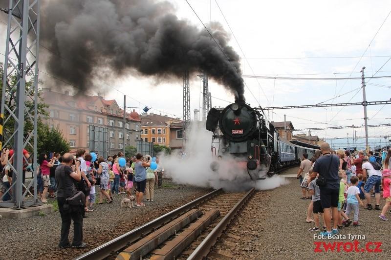 Do Nawsia można w sobotę dojechać pociągiem historycznym