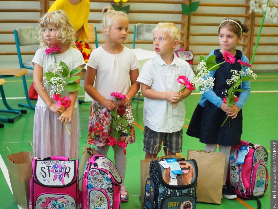 W Błędowicach rozpoczęło rok szkolny pięcioro pierwszoklasistów