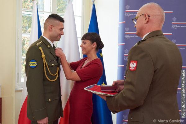 Petr David został odznaczony Gwiazdą Afganistanu