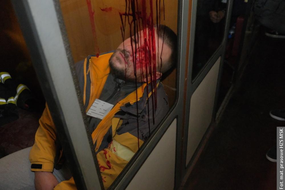 Katastrofa kolejowa w tunelu – pozorowany wypadek w Mostach koło Jabłonkowa