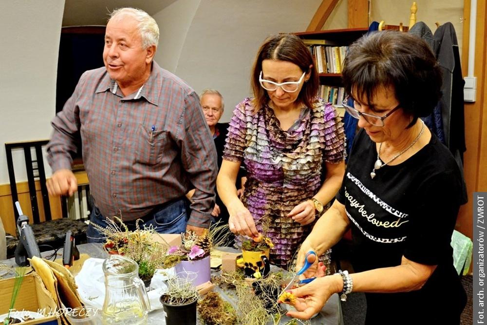 Z POCZTY REDAKCYJNEJ: Udane warsztaty florystyczne w Klubie Polonus w Brnie