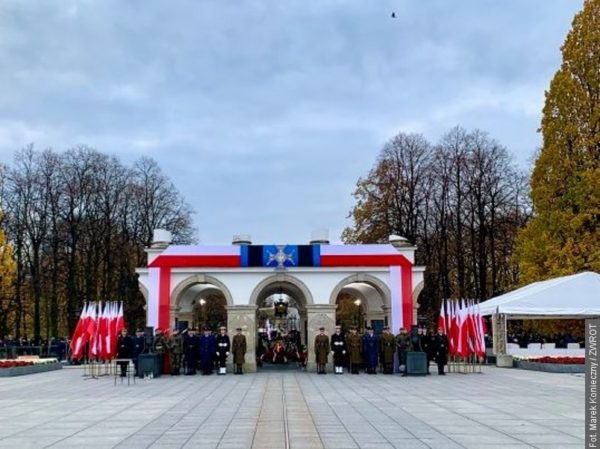 Na Święto Niepodległości do Warszawy pojechali też młodzi z Zaolzia
