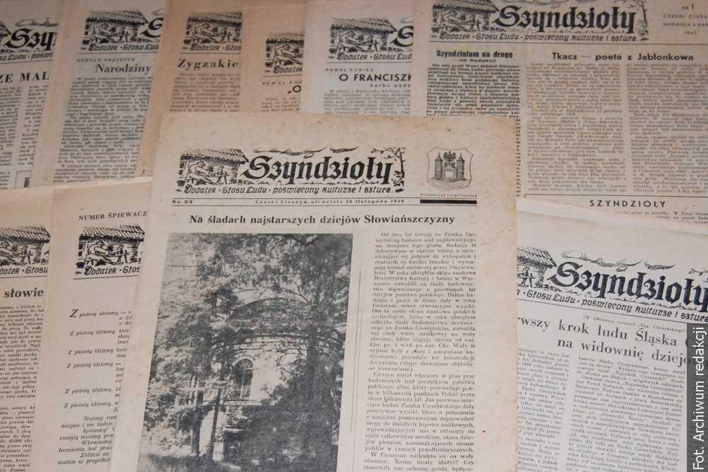 """Przed siedemdziesięcioma laty ukazał się ostatni numer """"Szyndziołów"""", poprzednika """"Zwrotu"""""""