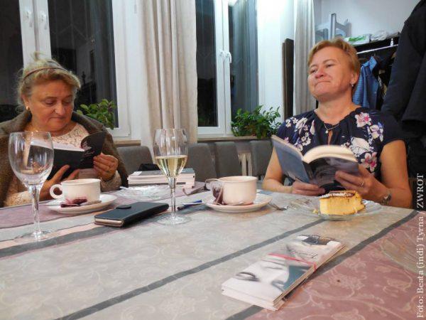 Danuta Chlup oraz Władysława Magiera mówiły o swych książkach w Warszawie