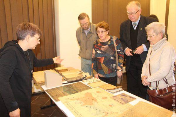 W Książnicy Cieszyńskiej tym razem mówiono o materiale, a nie treści zawartej w starych księgach