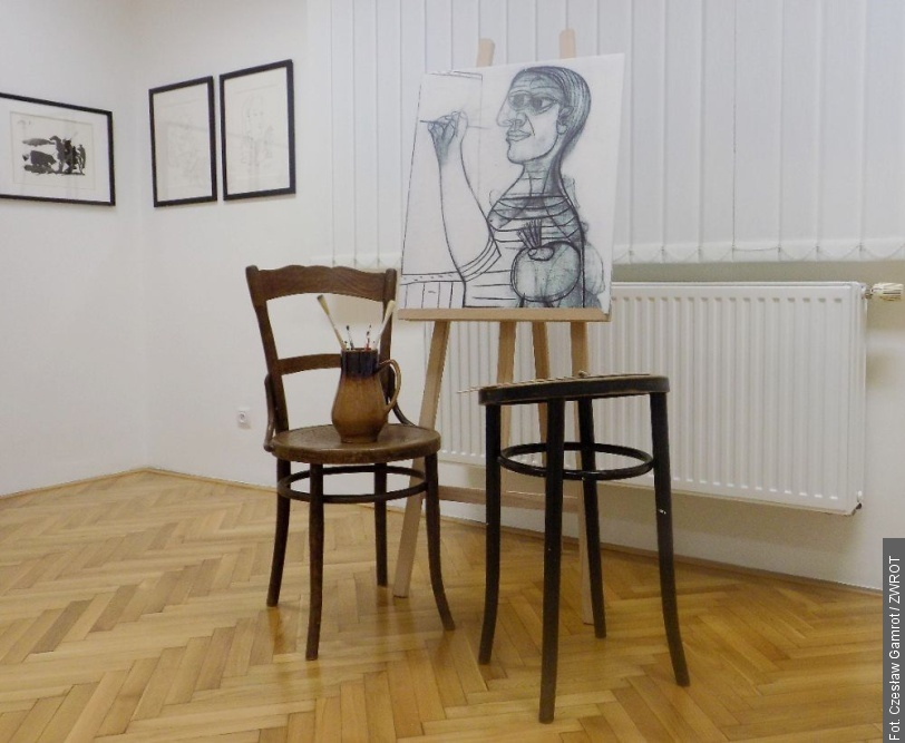 Litografie Pabla Picassa wmuzeum wTrzyńcu