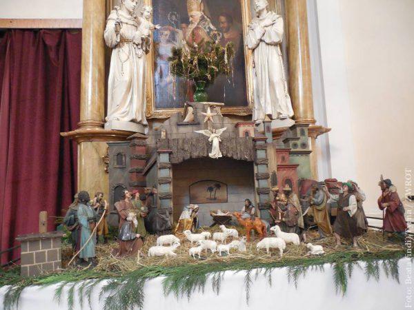 Szopka w kościele św. Józefa w Śląskiej Ostrawie