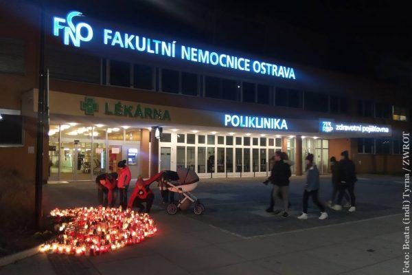 W szpitalu ostrawskim odprawiono nabożeństwo za ofiary wtorkowej strzelaniny