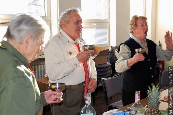 Harcerze seniorzy spotkali się na urodzinach