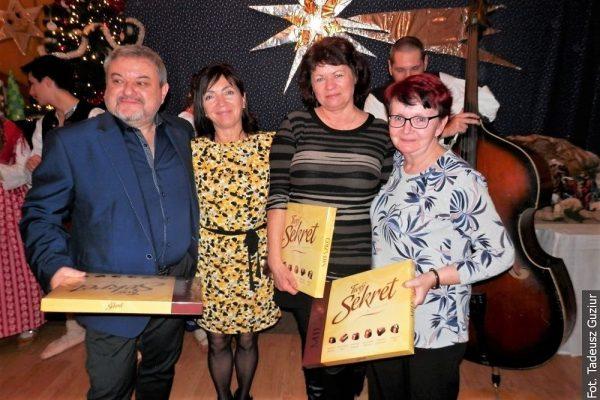 Z POCZTY REDAKCYJNEJ: Na wigilijce w Skrzeczoniu gratulowano jubilatom