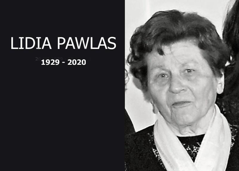 Zmarła Lidia Pawlas