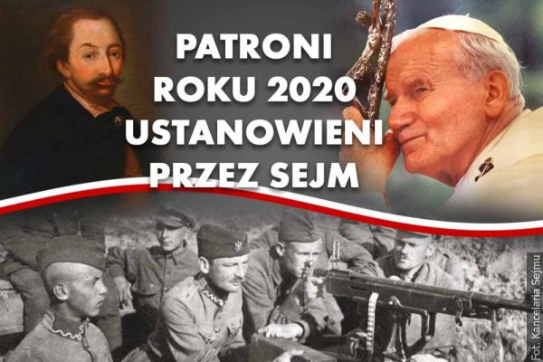 Sejm RP ustanowił patronów 2020 roku