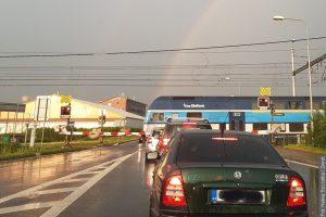 Przejazd kolejowy w Wędryni śledzą kamery