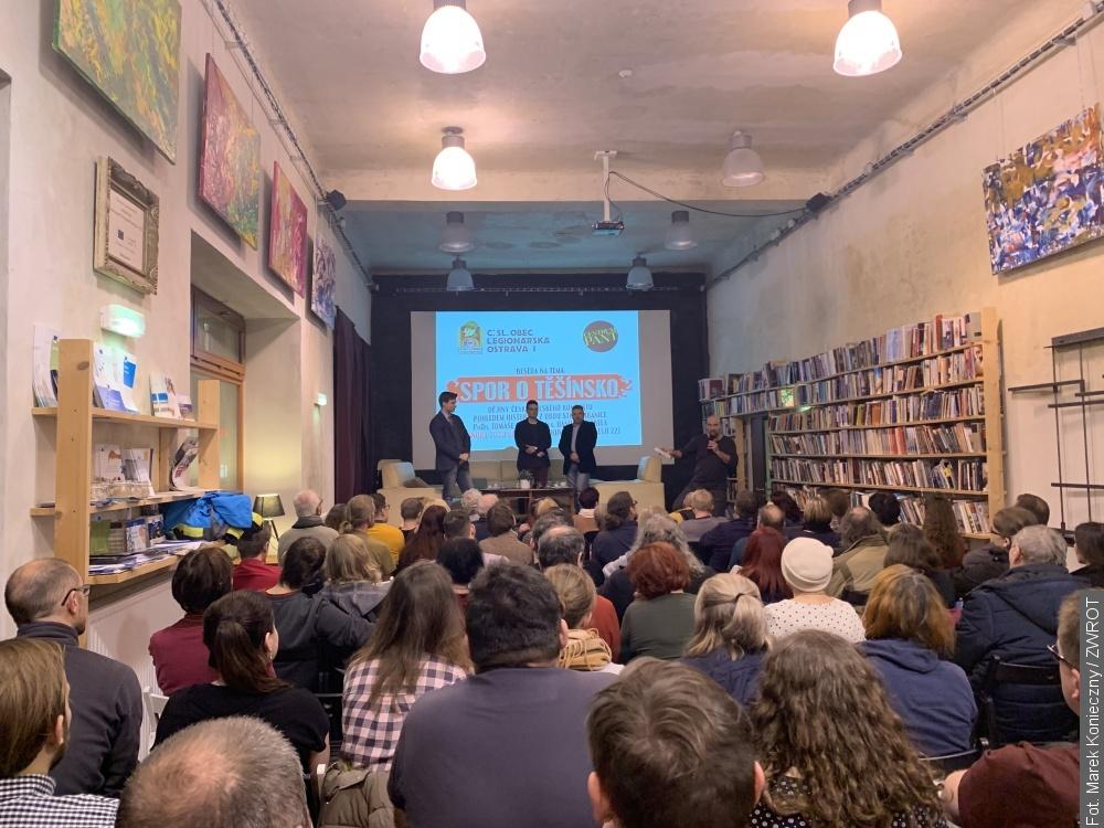 Daniel Korbel opowiadał w Ostrawie o konflikcie o Śląsk Cieszyński