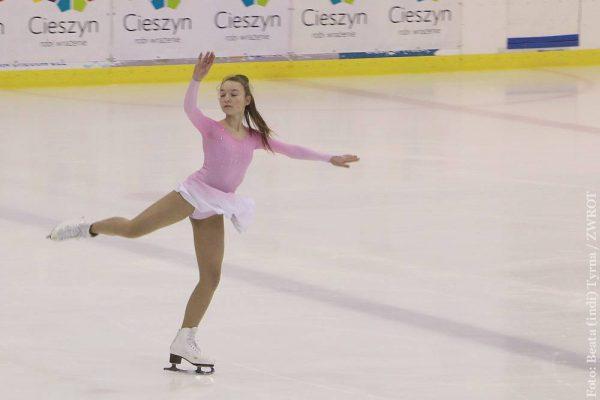W Cieszynie podziwiać można akrobacje na lodzie