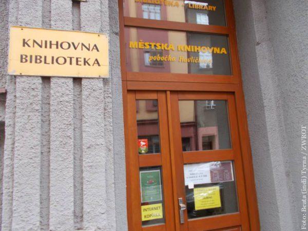 Filia Biblioteki Miejskiej w Czeskim Cieszynie przy ul. Havlíčka będzie nieczynna