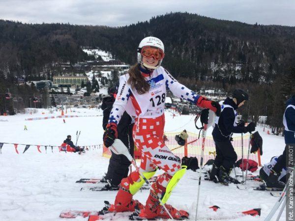 Brąz z mistrzostw RC w narciarstwie alpejskim młodszych juniorów dla Agaty Staszowskiej