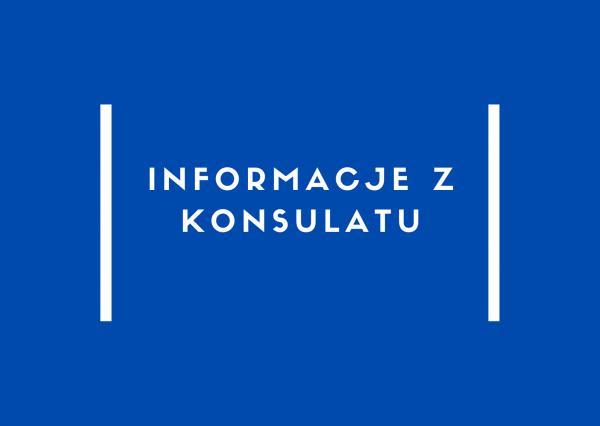 Konsulat Generalny w Ostrawie ogranicza godziny przyjmowania