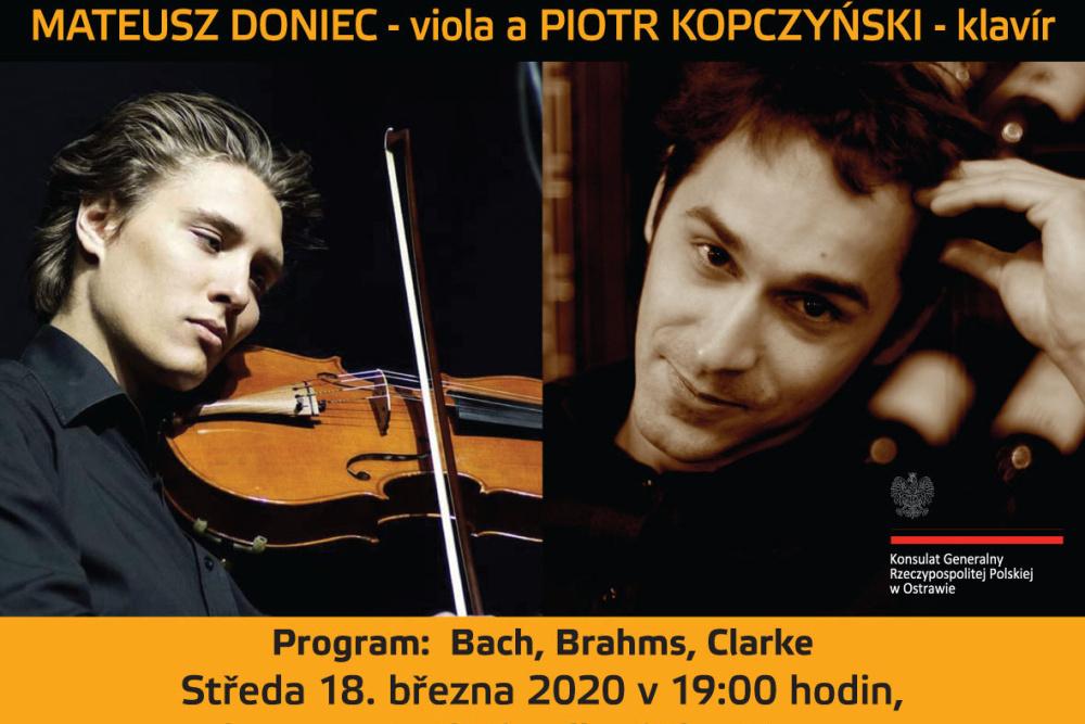 Koncert na pianino i wiolonczelę w Ostrawie