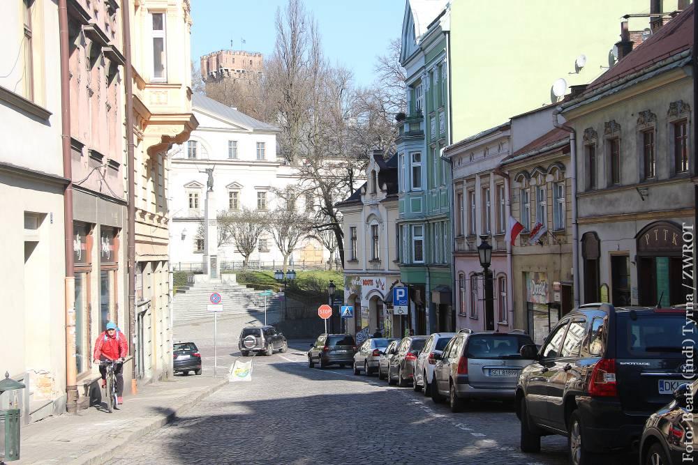 Wirtualnie ulicami. Głęboka i Rynek w Cieszynie