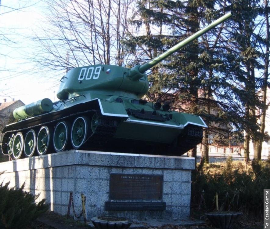 Skąd się wziął czołg w Stanisłowicach