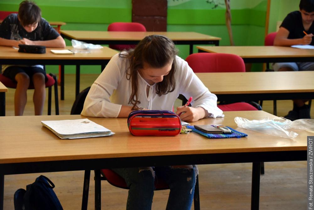 Uczniowie dziewiątych klas wrócili do szkoły
