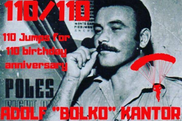 110 skoków na 110 rocznicę. W tym roku obchodzimy 110 rocznicę urodzin Adolfa Bolko Kantora