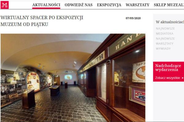 Muzeum Dom Rodzinny Ojca Świętego Jana Pawła II w Wadowicach wirtualnie