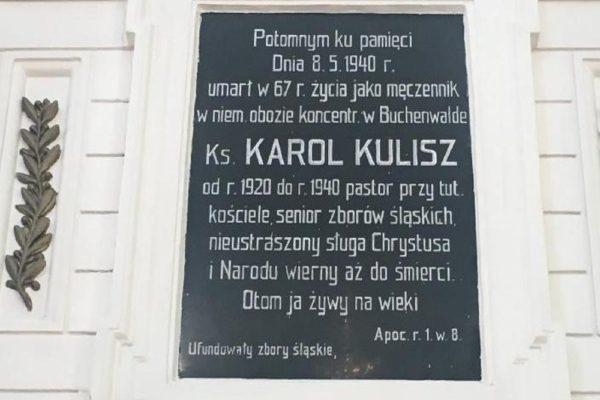 Uczcijmy pamięć Ks. Pastora Karola Kulisza – ofiary terroru nazistowskiego