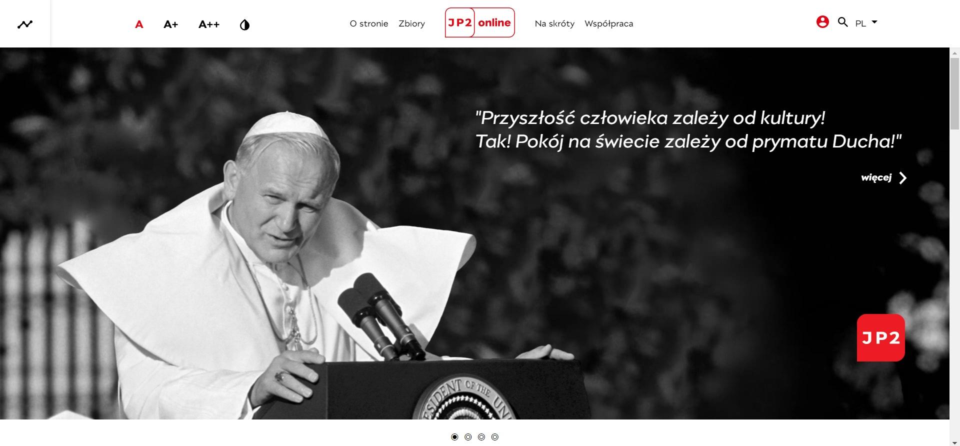Papież Jan Paweł II online