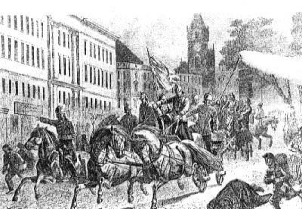 Pożarnictwo w czasie rozbiorów Polski