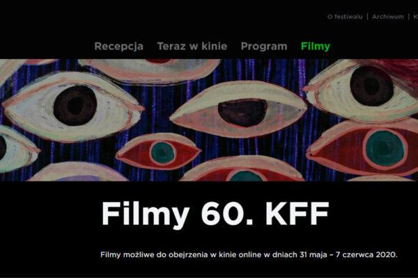 Jeszcze do 7 czerwca oglądać można filmy w ramach Krakowskiego Festiwalu Filmowego. Jednak tylko w Polsce