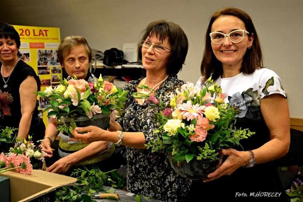 Warsztatów florystycznych w Klubie Polonus ciąg dalszy