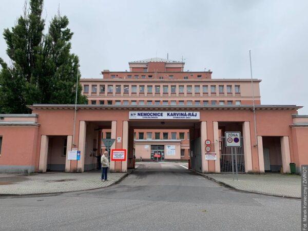 Szpital w Karwinie-Raju zwiększa liczbę łóżek dla pacjentów z COVID-19